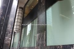 Frameless Glass Panels