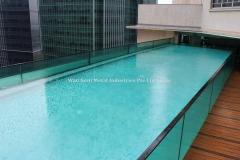 Laminated Glass Panels (Swimming Pool)