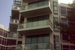 Glass Railing (Balcony)