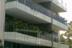 Glass Railing (Balcony Area)