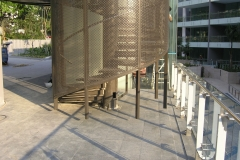 Perforated Panel (Staircase)