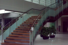 Glass Louvres & Glass Railing (Staircase)